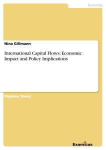 Titel: International Capital Flows: Economic Impact and Policy Implications