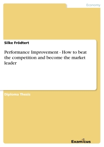 Titel: Performance Improvement - How to beat the competition and become the market leader