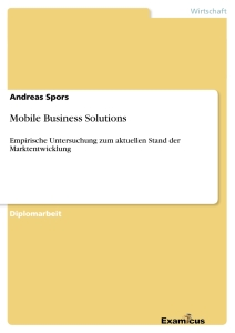 Titel: Mobile Business Solutions