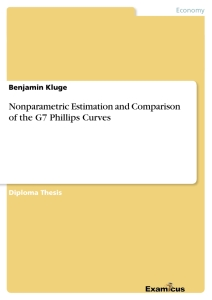 Titel: Nonparametric Estimation and Comparison of the G7 Phillips Curves