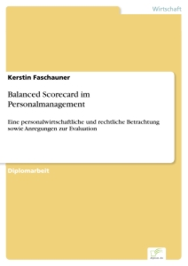 Titel: Balanced Scorecard im Personalmanagement