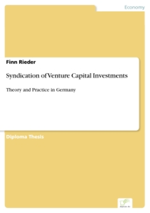 Title: Syndication of Venture Capital Investments