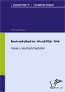 Titel: Barrierefreiheit im World Wide Web