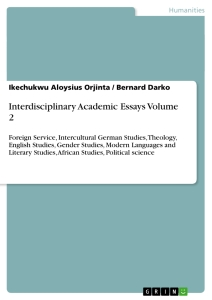 interdisciplinary essays from the literature Interdisciplinary teams are the interdisciplinary teams play important role if you are the original writer of this essay and no longer wish.
