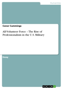 professionalism military essay In this essay i will be covering professionalism, tact and the customs and courtesies inside the marine corps why these traits are important to possess.