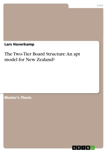 Master thesis new zealand