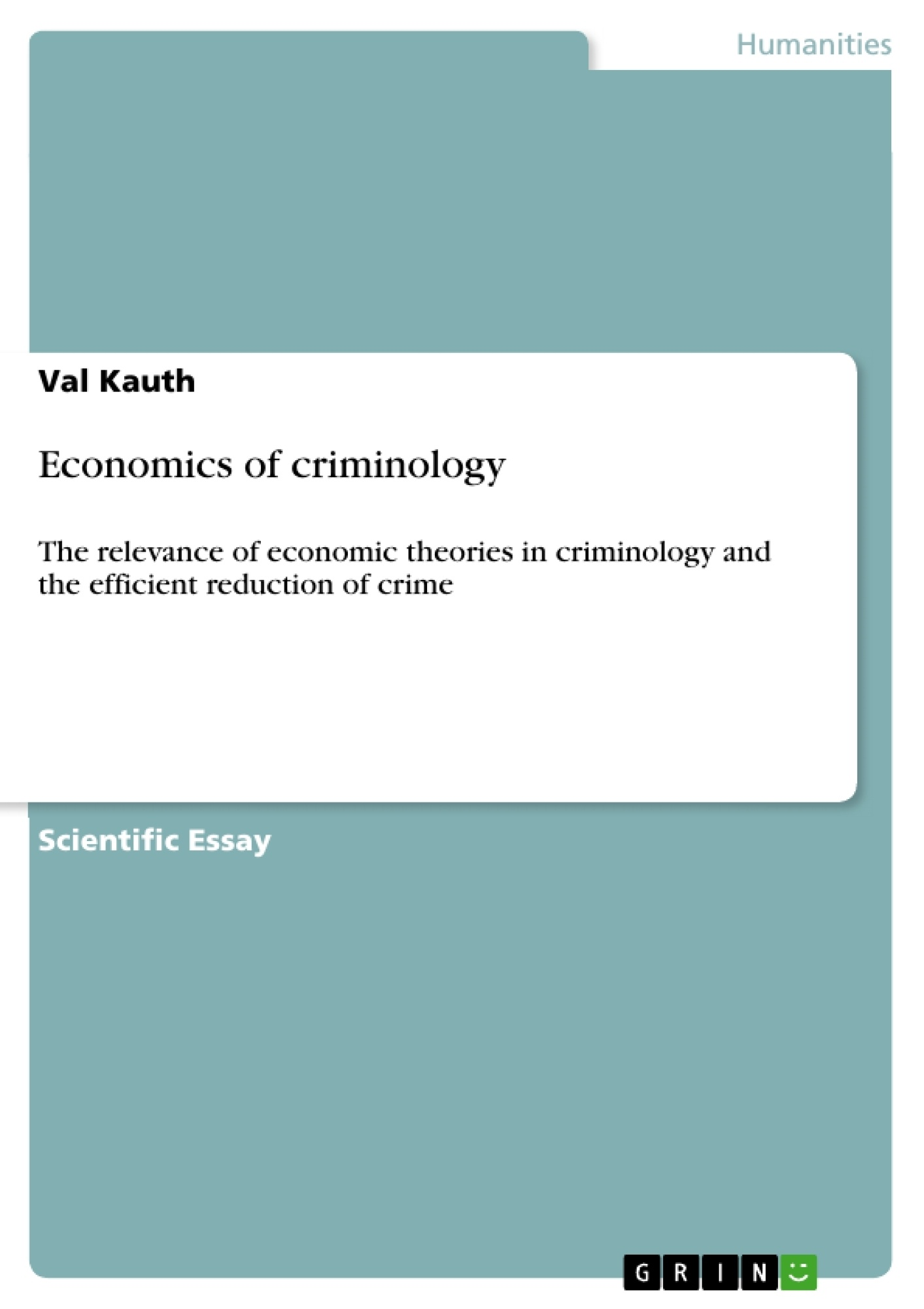 economics of criminology publish your master s thesis  upload your own papers earn money and win an iphone x