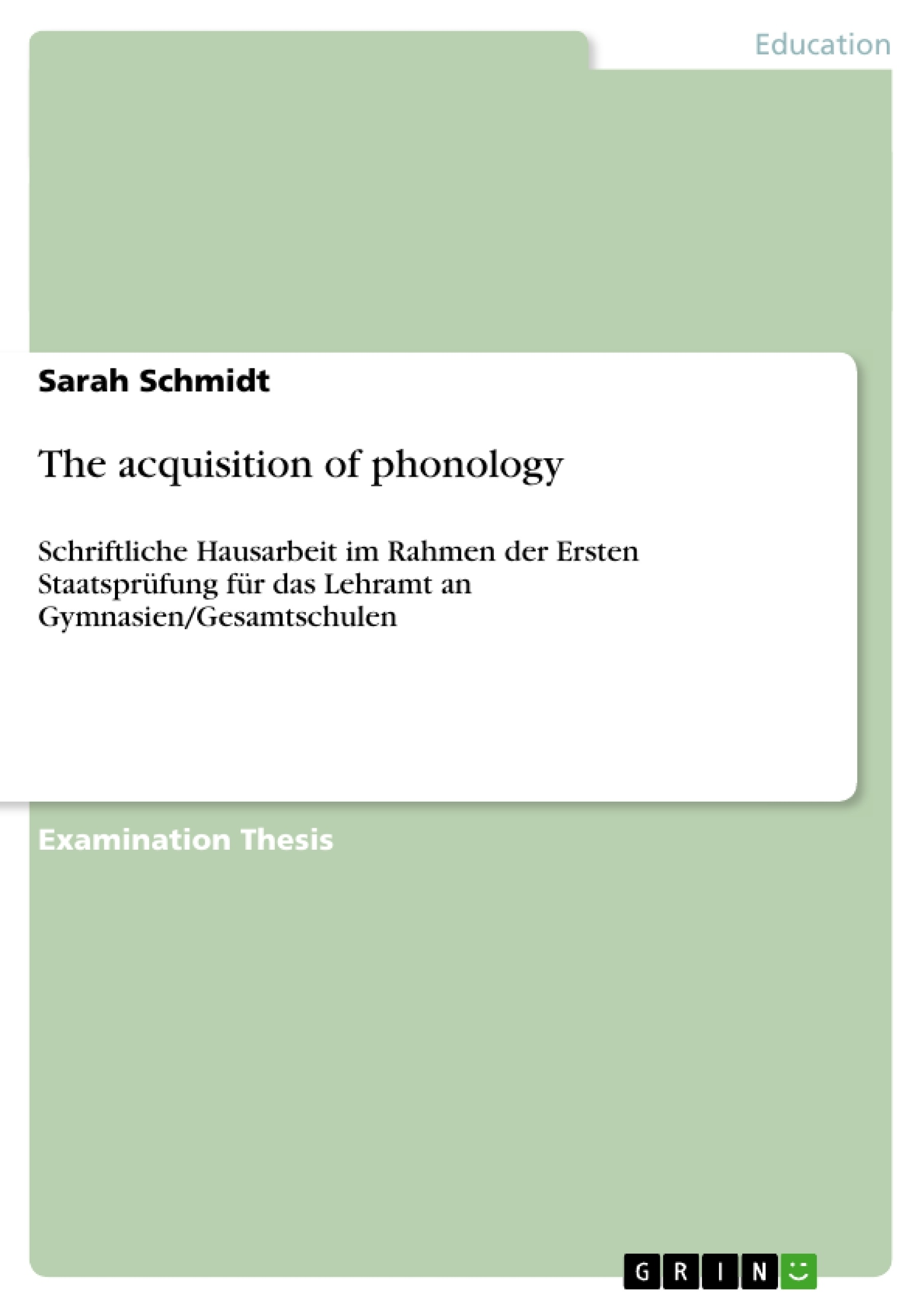 essay on phonology Fun facts about phonology -- the sound patterns of language.
