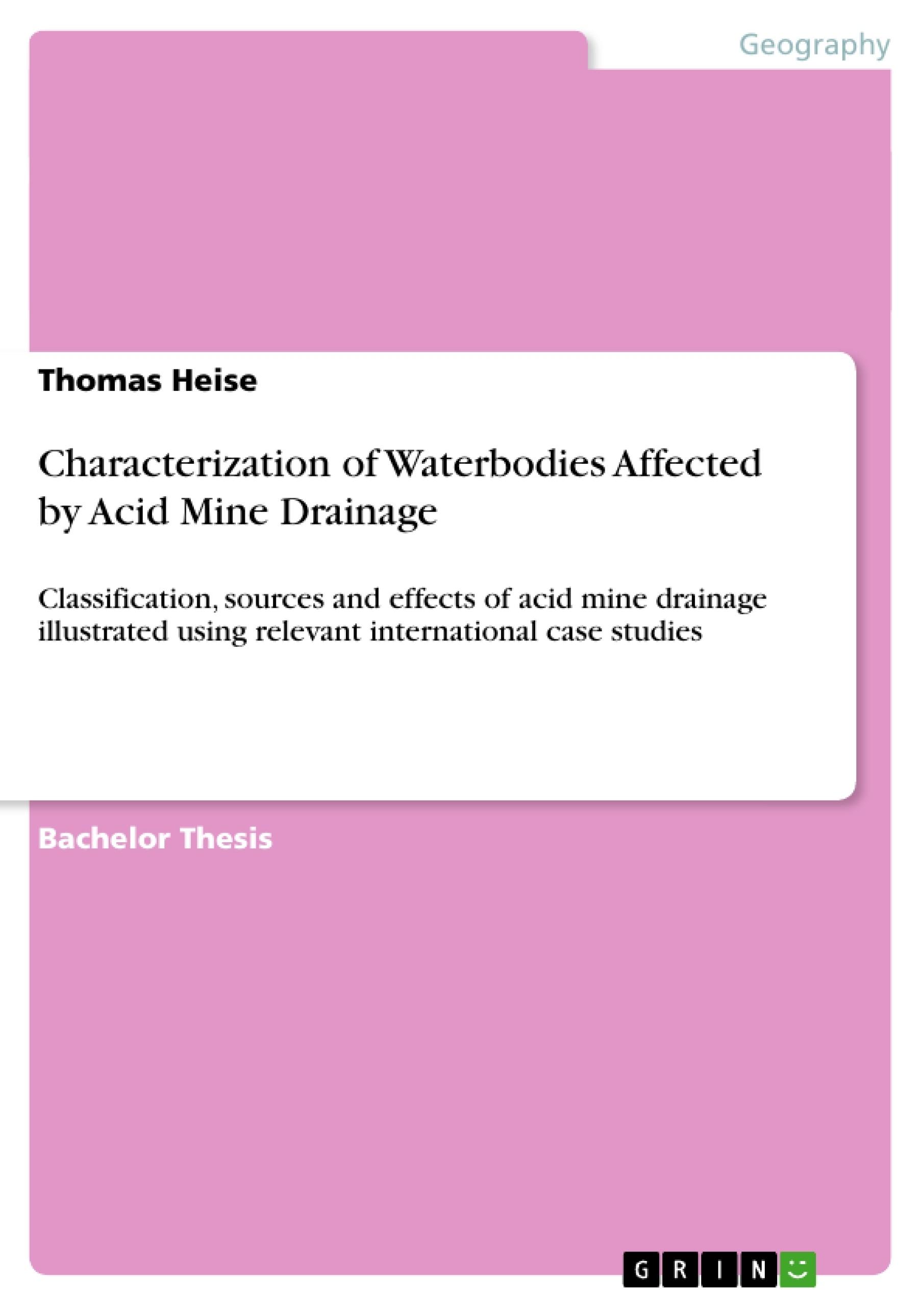 characterization thesis