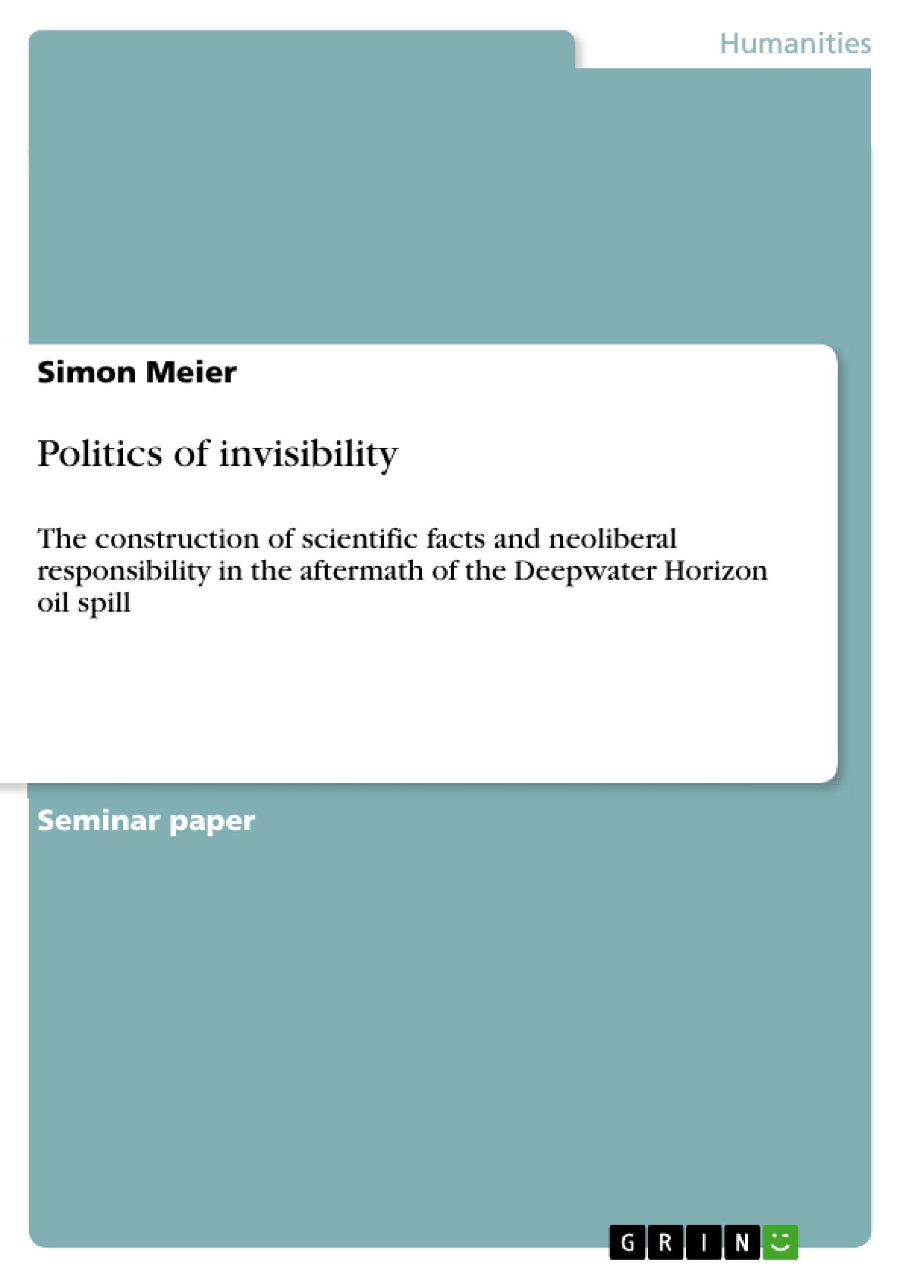 blindness and invisibility in invisible man essay