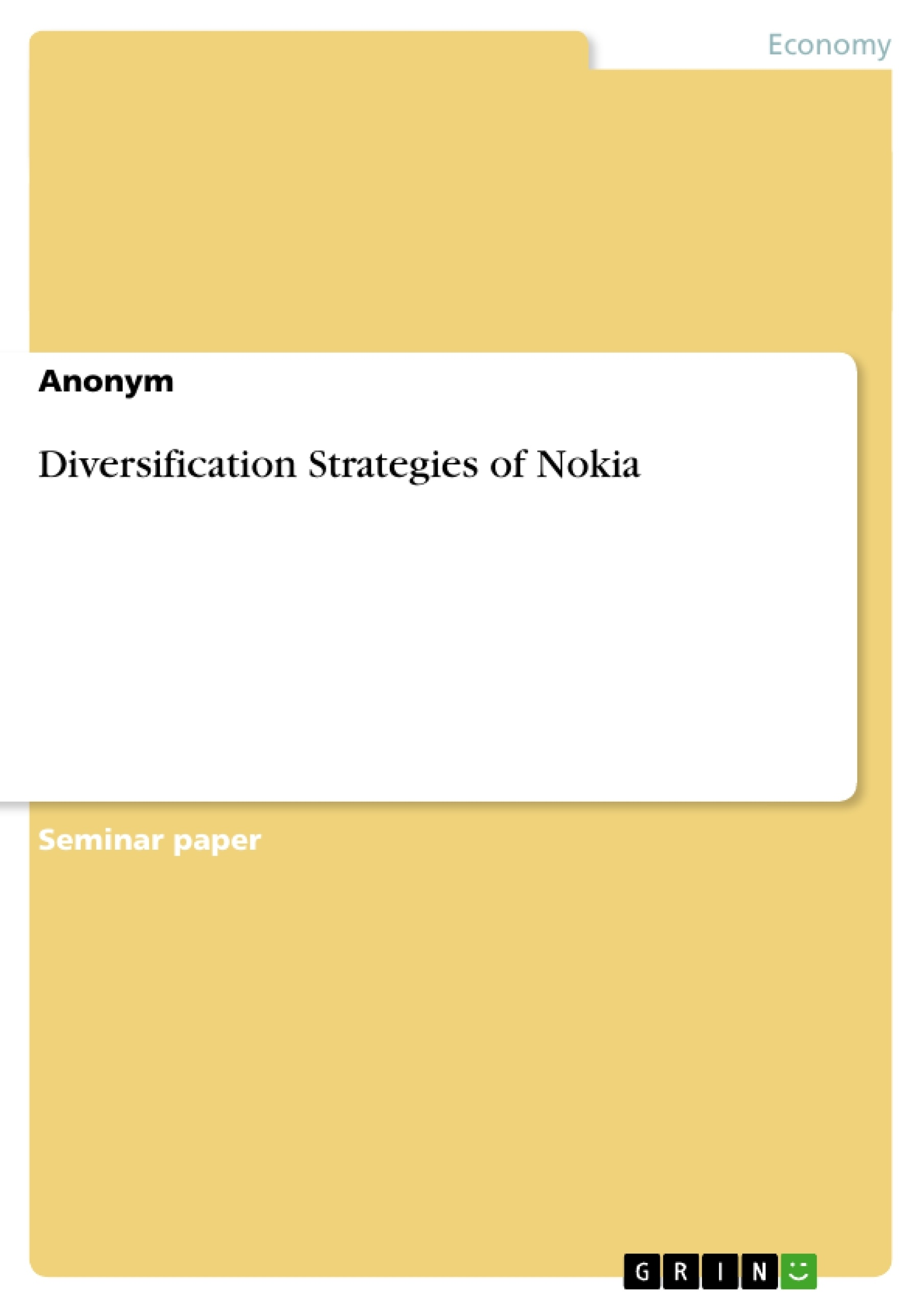 nokia environmental strategy Concluding environmental analysis recommendation current and future nokia strategy presentation slideshare, strategic analysis of nokias smartphone market.