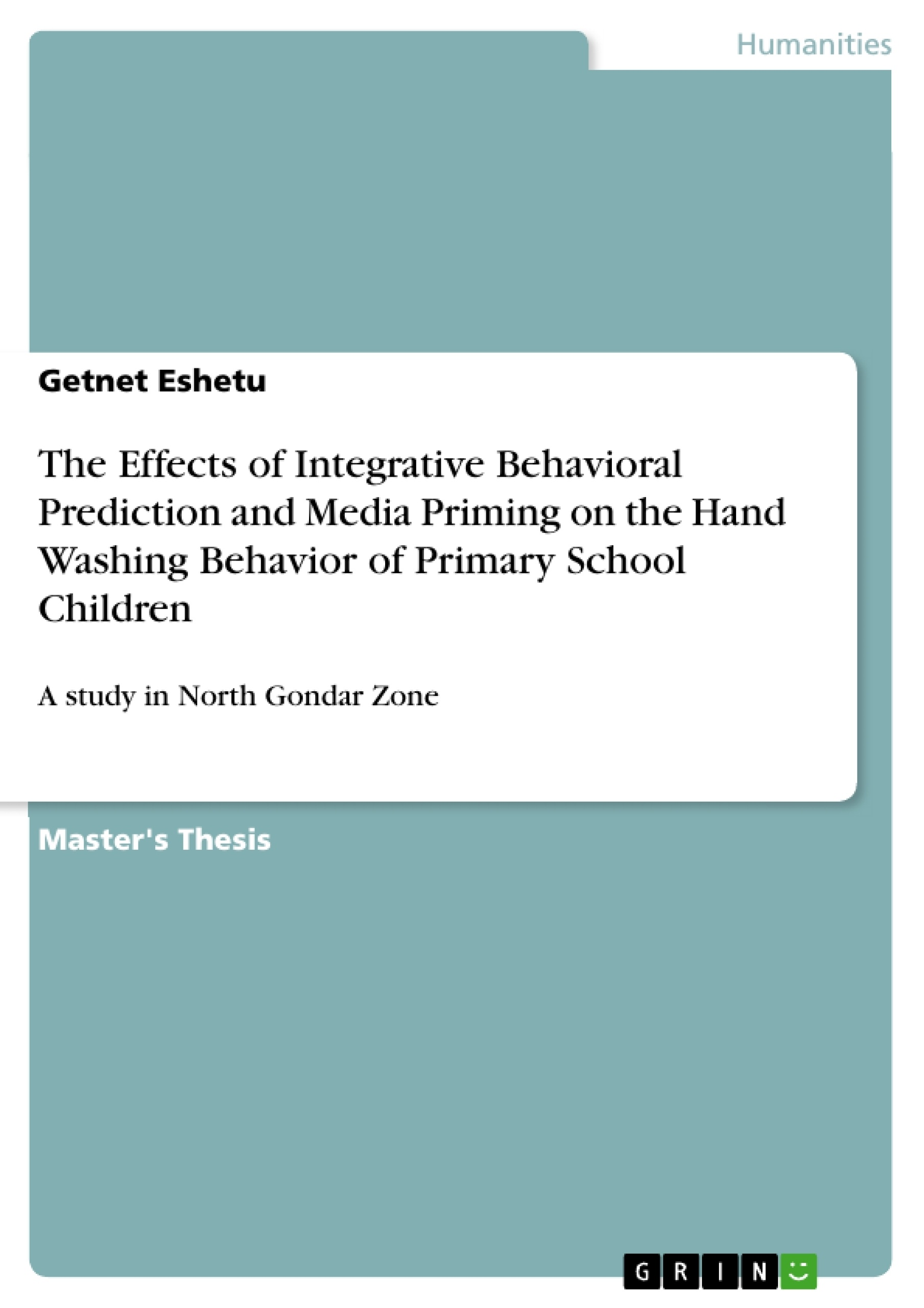 The Effects of Integrative Behavioral Prediction and Media Priming ...