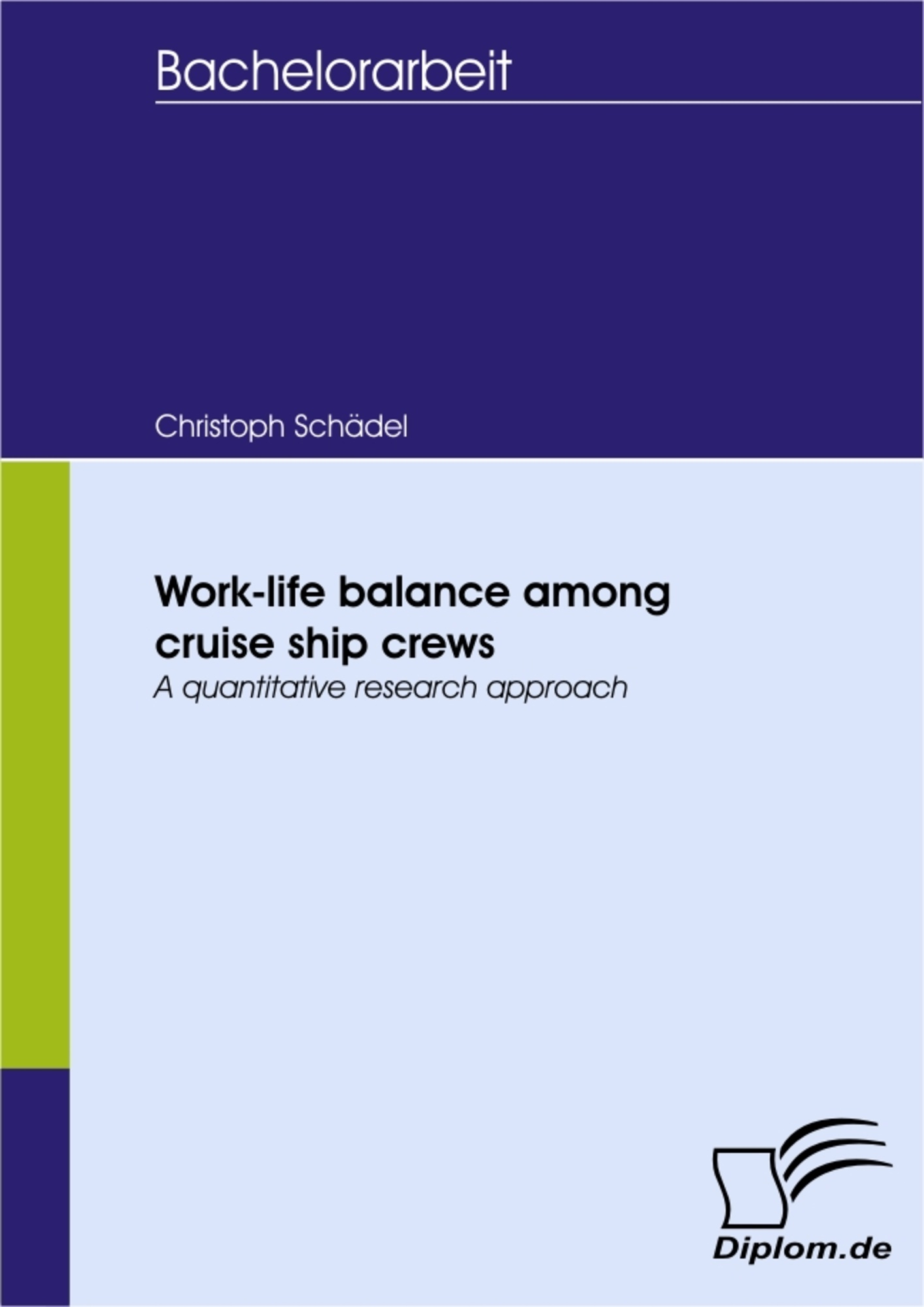 Work-life balance among cruise ship crews