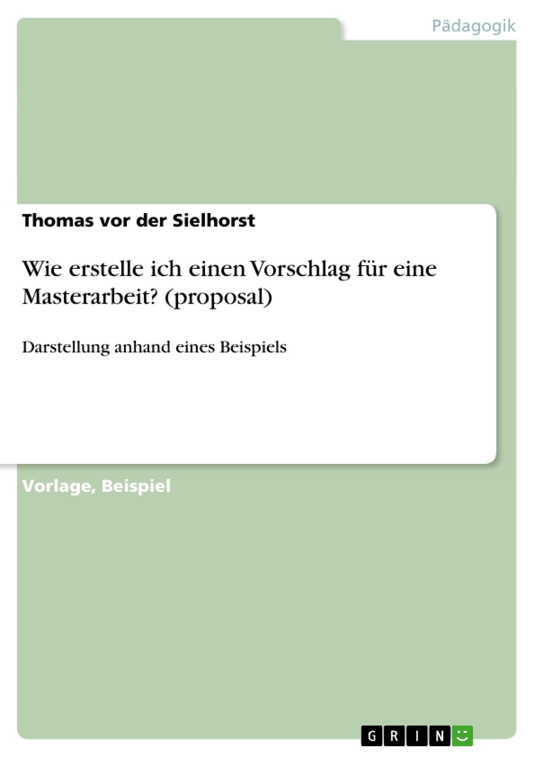 Charmant Vorschlag Vorlage Beispiel Galerie ...