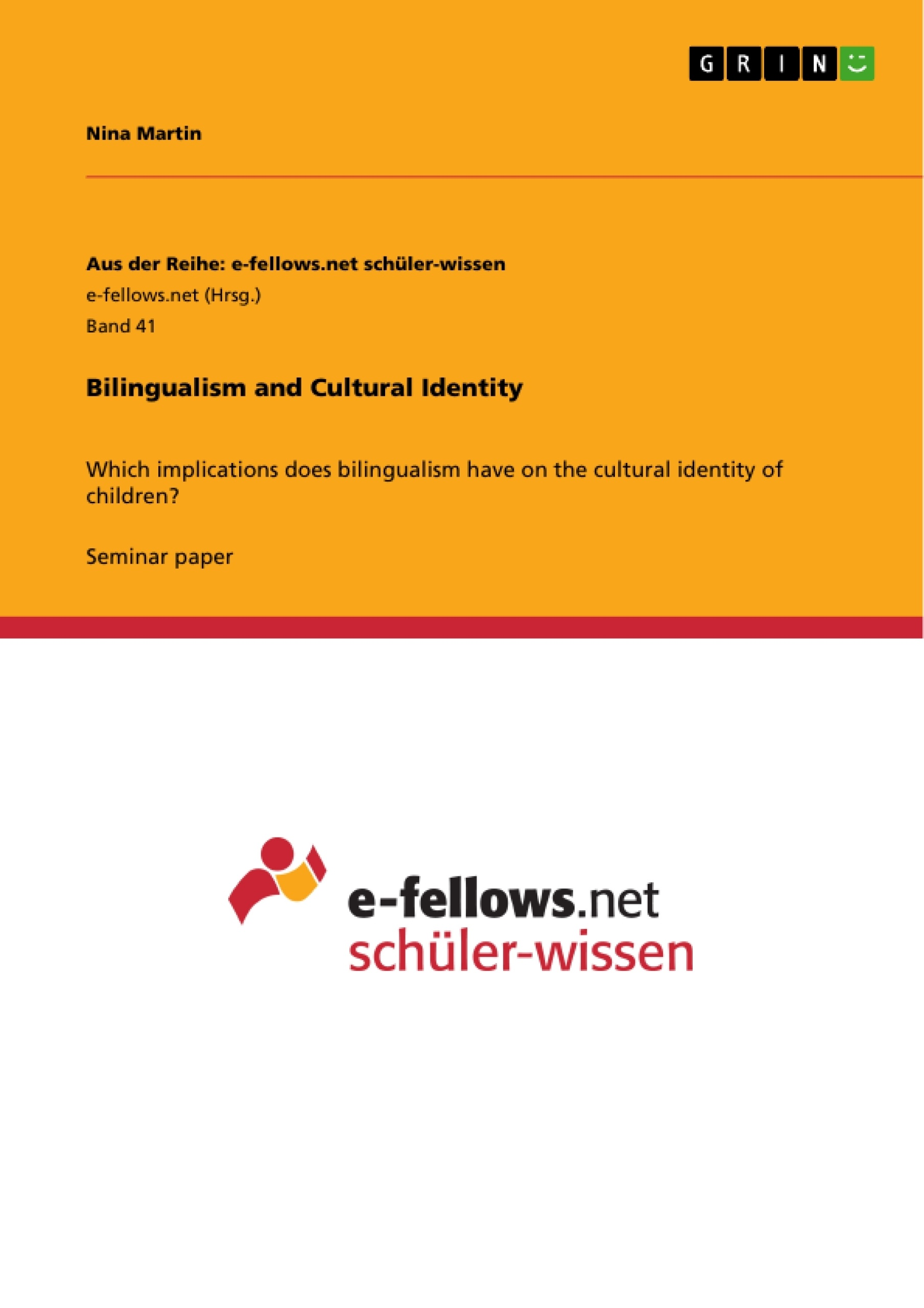 bilingualism and cultural identity publish your master s thesis  bilingualism and cultural identity publish your master s thesis bachelor s thesis essay or term paper