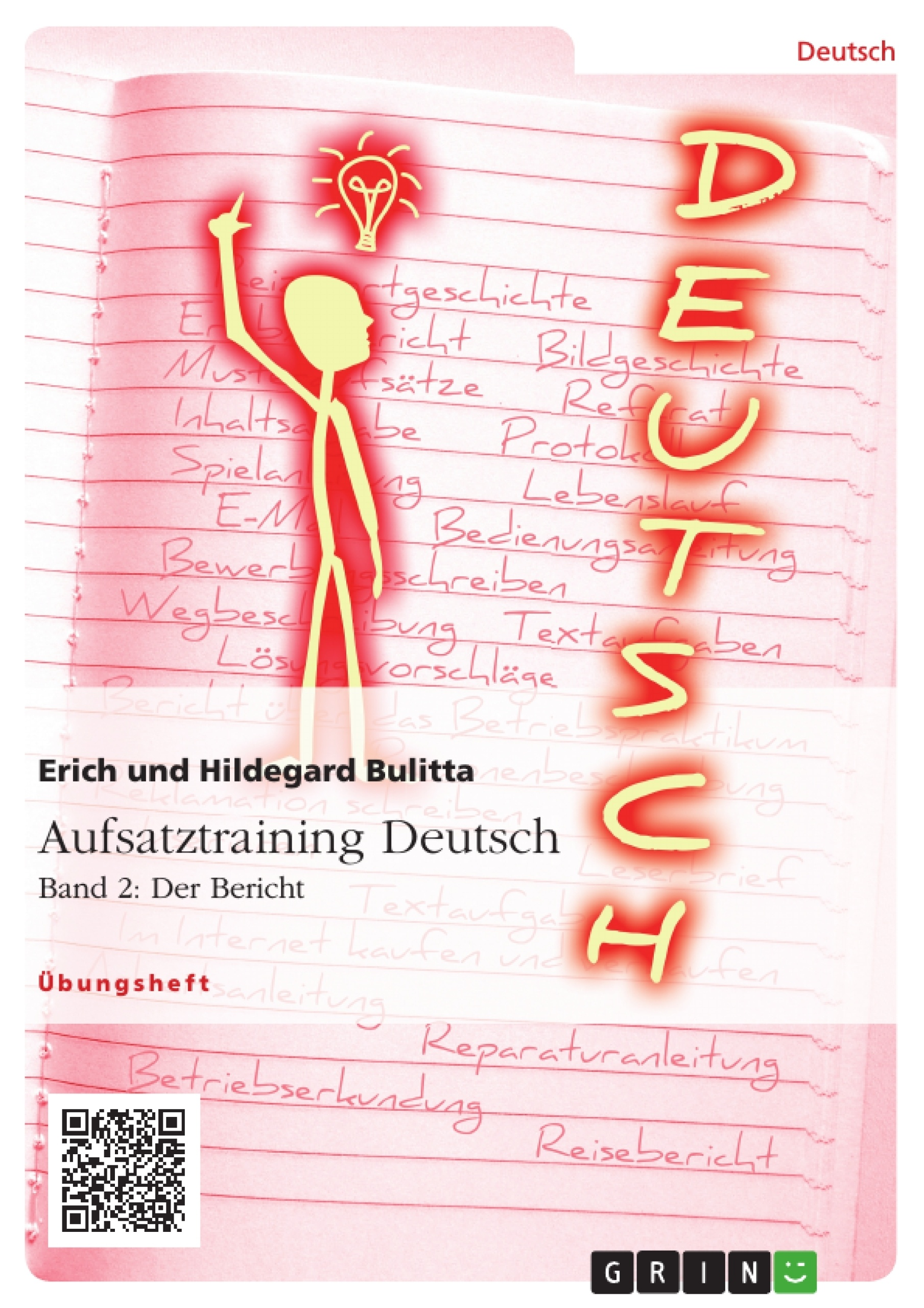 Aufsatztraining Deutsch - Band 2: Der Bericht | Masterarbeit ...