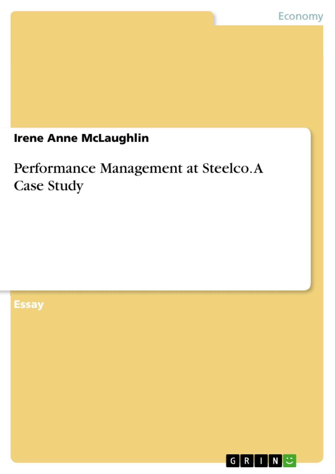 performance management at steelco a case study publish your  upload your own papers earn money and win an iphone x