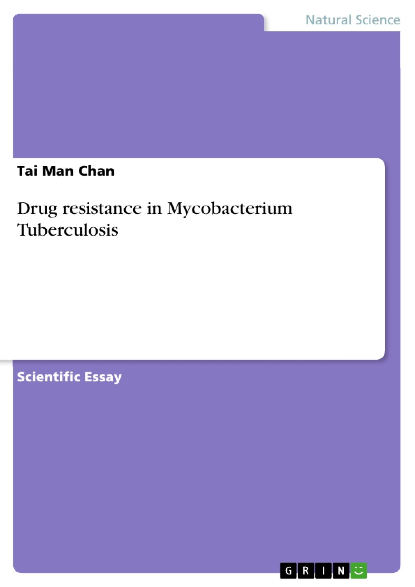 drug resistance in mycobacterium tuberculosis publish your  upload your own papers earn money and win an iphone x