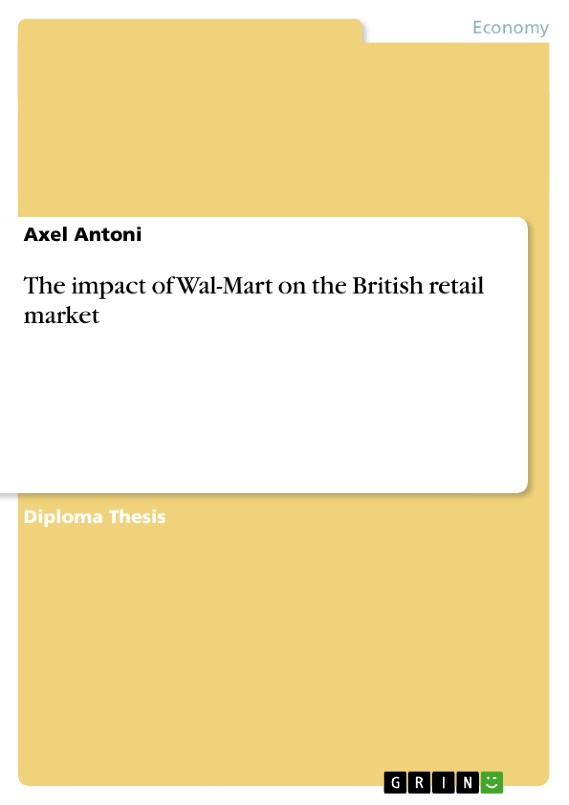 the wal mart effect essay