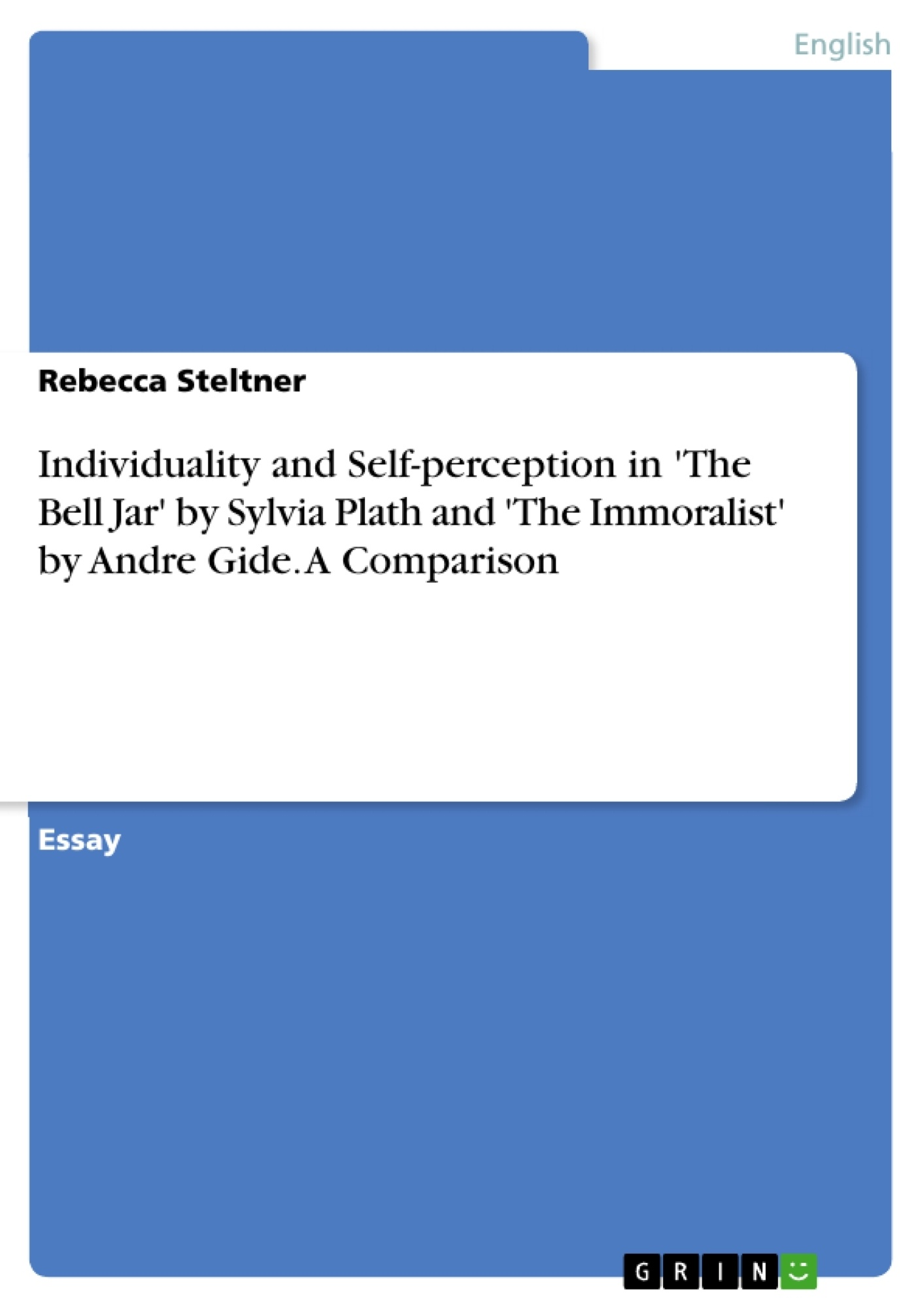 individuality and self perception in the bell jar by sylvia  upload your own papers earn money and win an iphone x