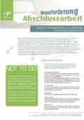Download - Herausforderung Abschlussarbeit als PDF