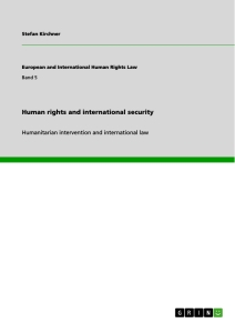 human rights and international security publish your master s  title human rights and international security