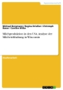 Titel: Milchproduktion in den USA. Analyse der Milchviehhaltung in Wisconsin