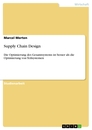 Title: Supply Chain Design