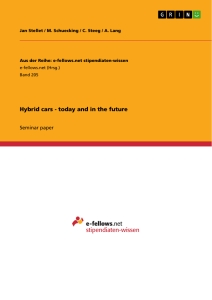 Title: Hybrid cars - today and in the future