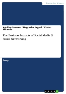 the business impacts of social media social networking publish  the business impacts of social media social networking essay