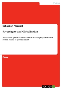 Title: Sovereignty and Globalisation