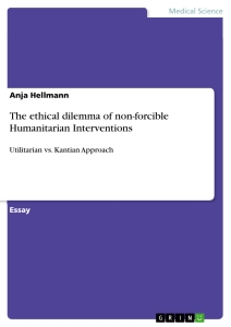 the ethical dilemma of non forcible humanitarian interventions  the ethical dilemma of non forcible humanitarian interventions