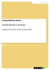 Title: Global Business Strategy