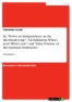 """Titel: Zu """"Power an Independence in the Information Age"""", """"Globalization: What's new? What's not?"""" und """"False Promis of International Institutions"""""""