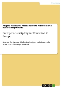 entrepreneurship higher education in europe publish your  entrepreneurship higher education in europe