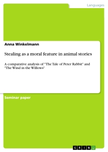 stealing as a moral feature in animal stories publish your  title stealing as a moral feature in animal stories
