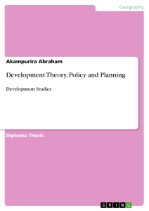 development theory policy and planning publish your master s  development theory policy and planning