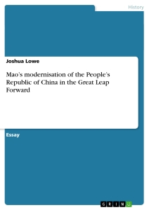 peopleís republic of china essay Taiwan and the republic of china printer friendly part #1 (1) in the aftermath of the first sino-japanese war,  the republic of china (roc) .