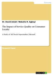 the impact of service quality on consumer loyalty publish your  title the impact of service quality on consumer loyalty
