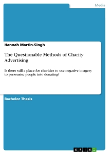 Title: The Questionable Methods of Charity Advertising
