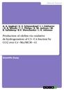Title: Production of olefins via oxidative de-hydrogenation of C3‒C4 fraction by CO2 over Cr‒Mo/MCM‒41