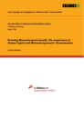 Title: Boosting Microenterprise Growth. The Importance of Human Capital and Microentrepreneurs' Characteristics