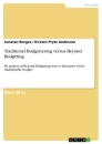 Title: Traditionel Budgettering versus Beyond Budgeting