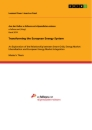 Title: Transforming the European Energy System