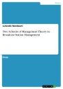 Title: Two Schools of Management Theory in Broadcast Station Management