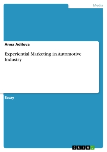 experiential marketing in automotive industry publish your  title experiential marketing in automotive industry