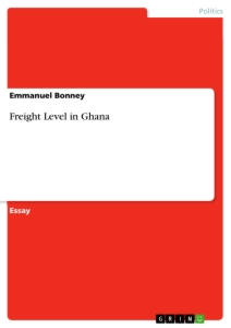 Title: Freight Level in Ghana