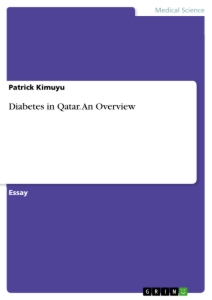 diabetes in qatar an overview publish your master s thesis  diabetes in qatar an overview essay