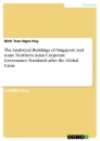 Title: The Analytical Buildings of Singapore and some Northern Asian Corporate Governance Standards after the Global Crisis