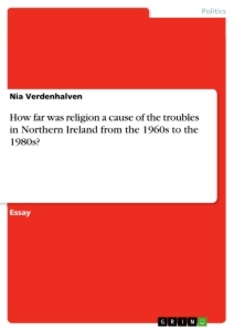 politics in northern ireland essay Posts about northern ireland written by julian mcgrath  assembly holding  executive to account essay structure possibility posted by julian mcgrath.